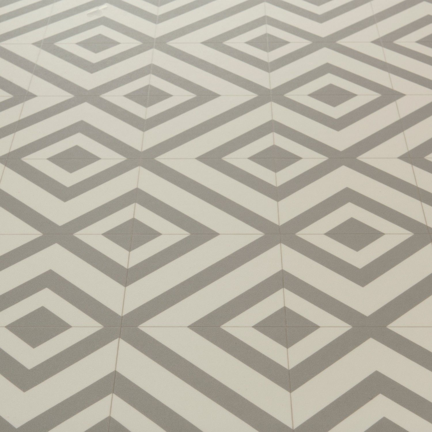 Mardi Gras Sagres Grey Patterned Vinyl Flooring Carpetright - Grey patterned vinyl floor tiles