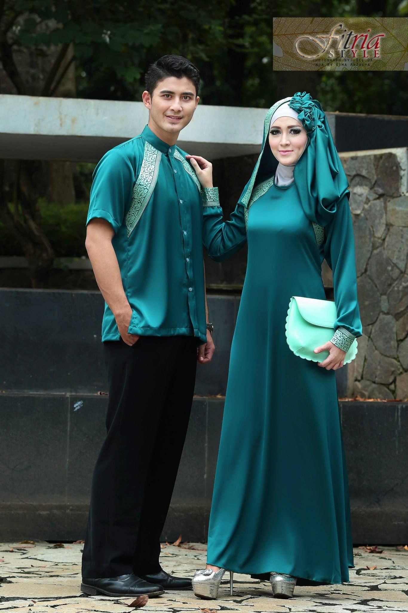 Ketahui Koleksi Baju Muslim Pesta Couple Paling Trendy Disini