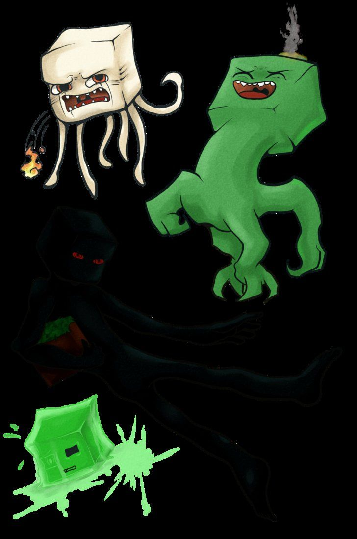 them nasty creatures by Rathiain on deviantART