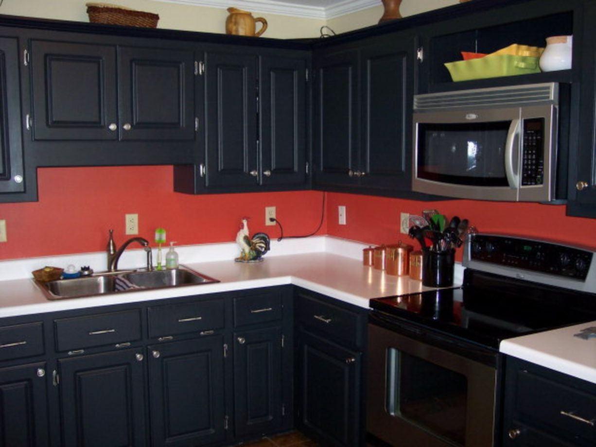 64 Amazing Black And Red Kitchen Decor Ideas Suitable For You Who Loves Cooking Roundecor Walls Design
