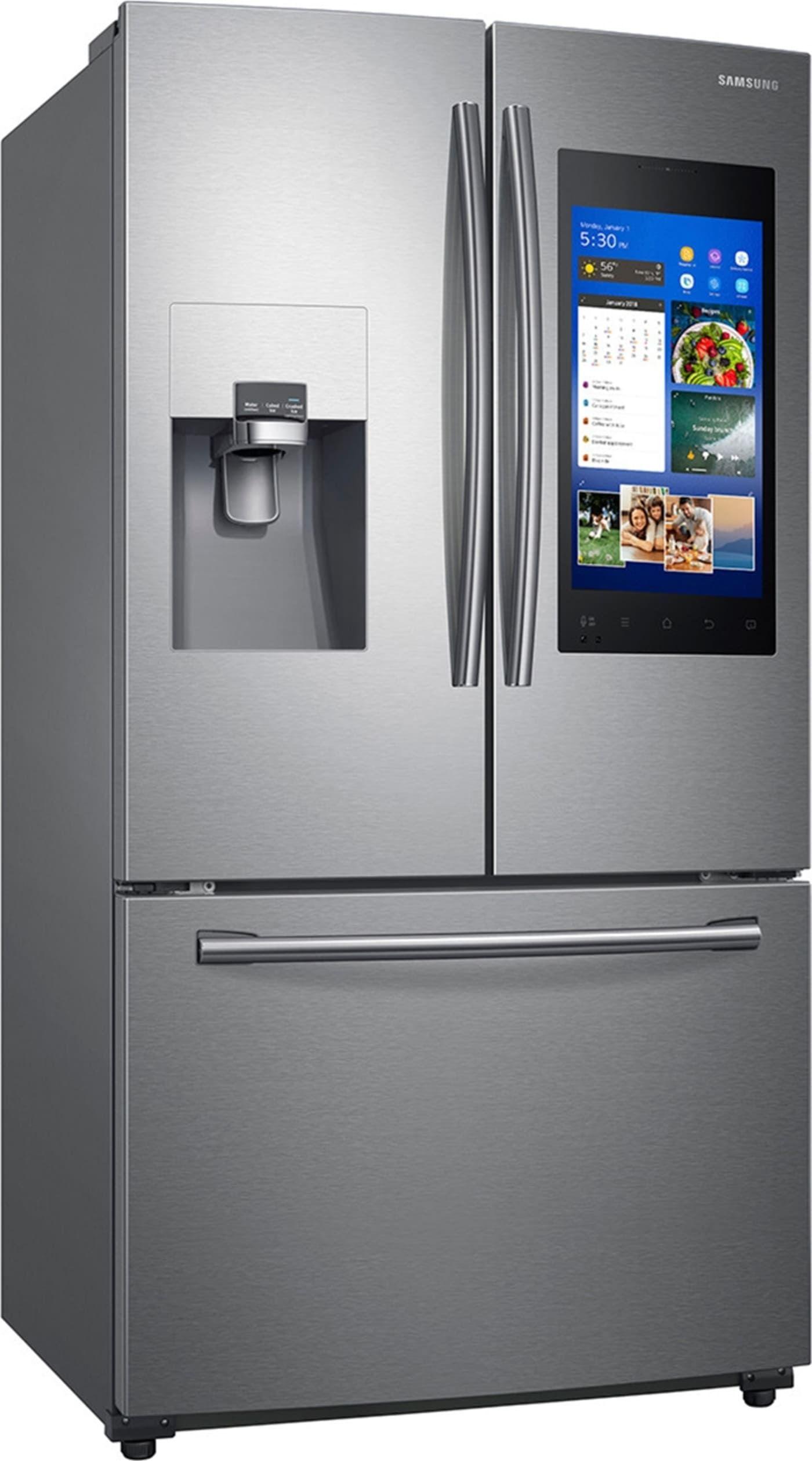 Samsung Rf265beaesr French Door Refrigerator Samsung Family Hub Stainless Steel Refrigerator