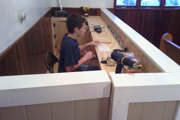 Sound Booth Build Good Private Desk Away From The Dogs My Church Pinterest Churches