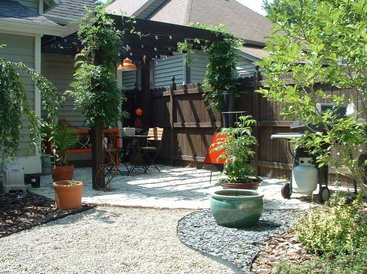 Desert garden design ideas makeover backyard with patio pergola