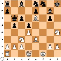 White Mates in 3. Feller vs Alexandre Lambrescak, France, 2004 chess-and-strategy.com #echecs #chess