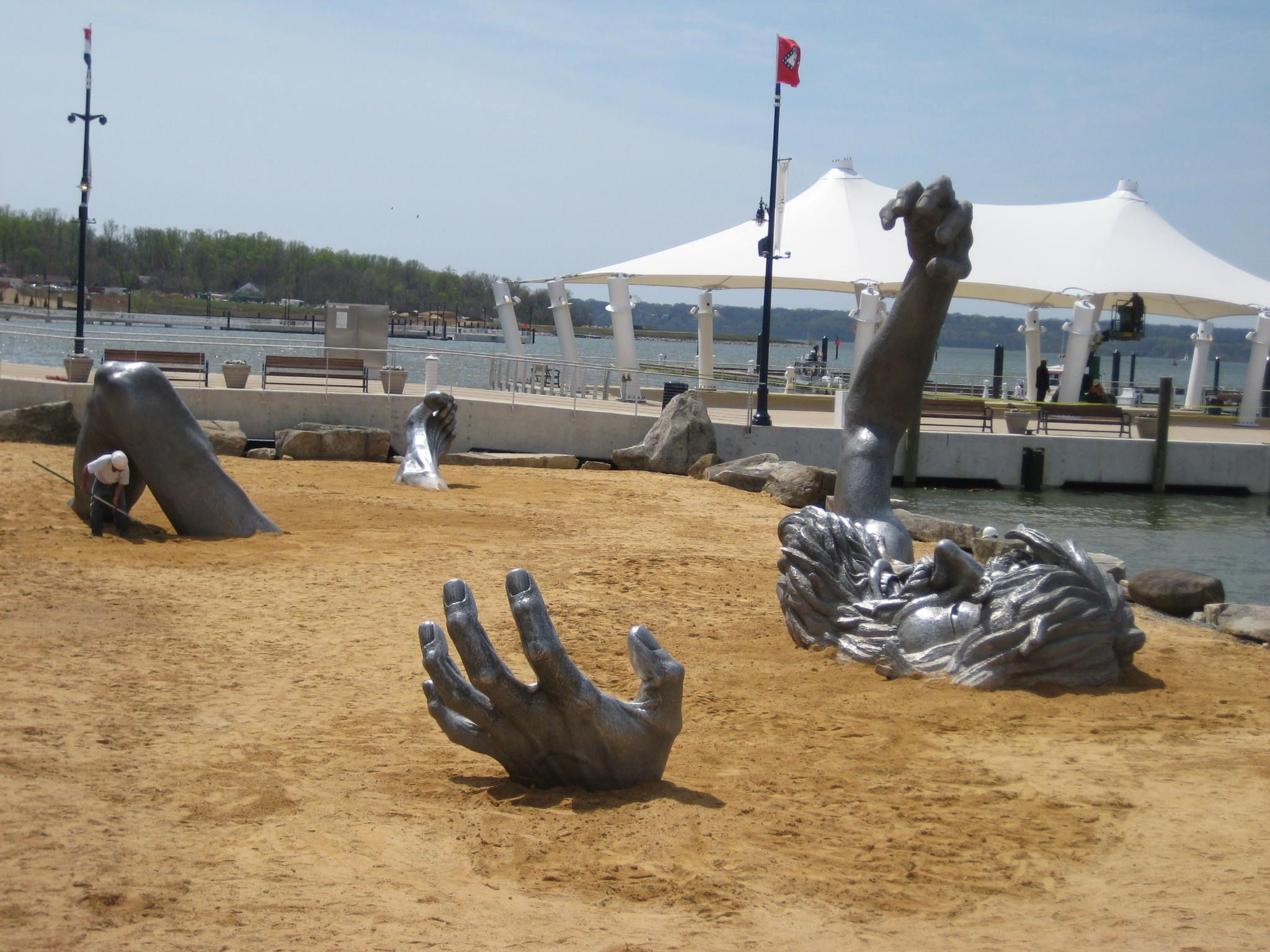 the awakening statue national harbor md http en