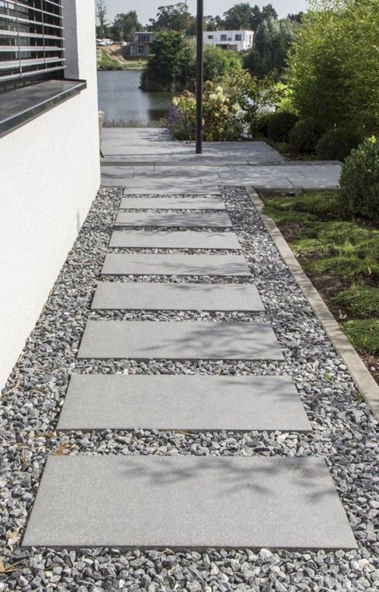 25 Brilliant Ideas For Stone Walkway In Your Garden Front Garden