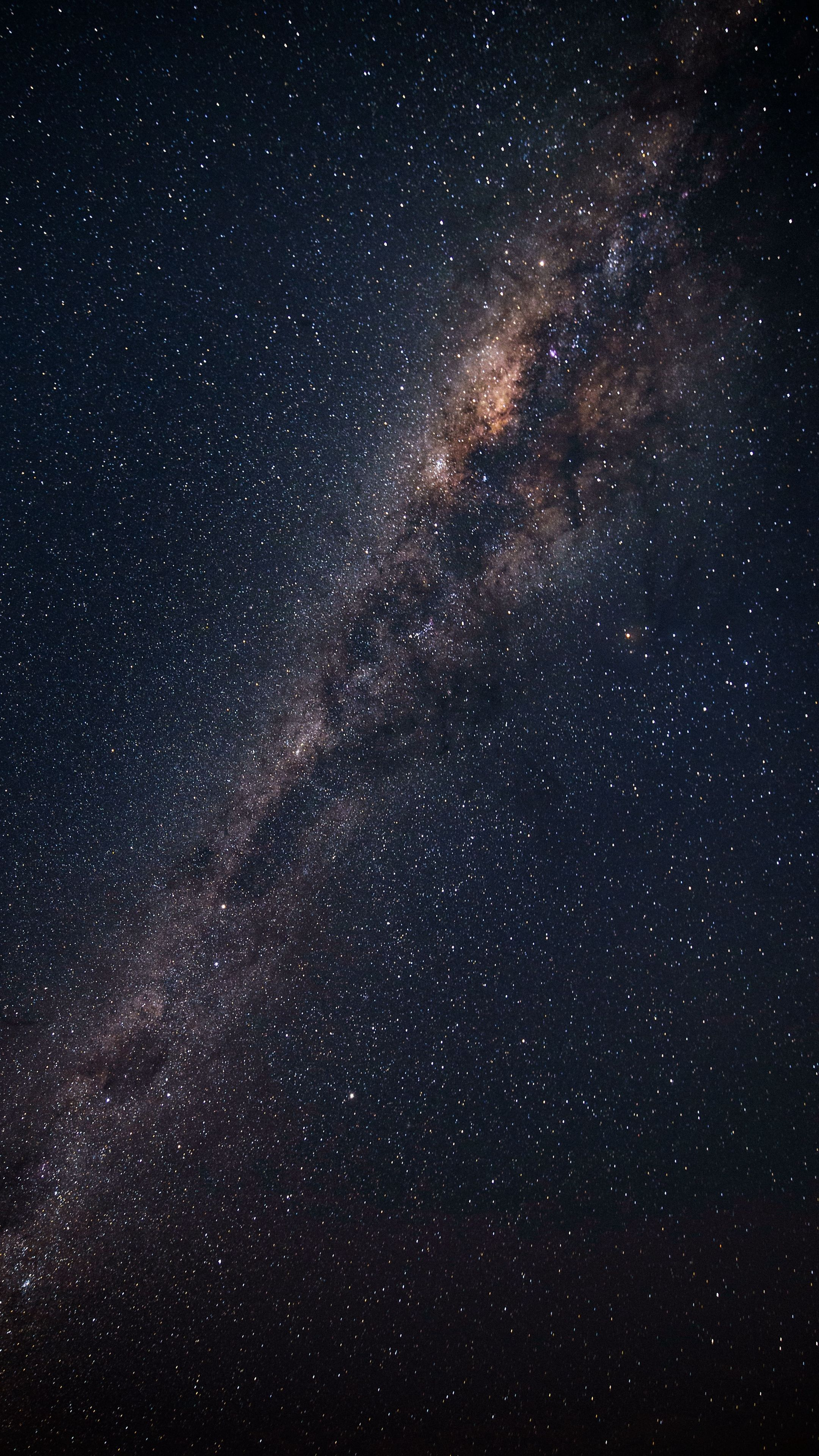 2160x3840 wallpaper starry sky milky way astronomy - 2160x3840 wallpaper ...
