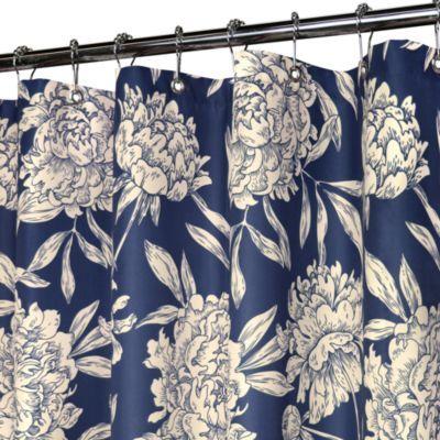 Navy Shower Curtains On Pinterest Grey Shower Curtains Blue Shower Curtain