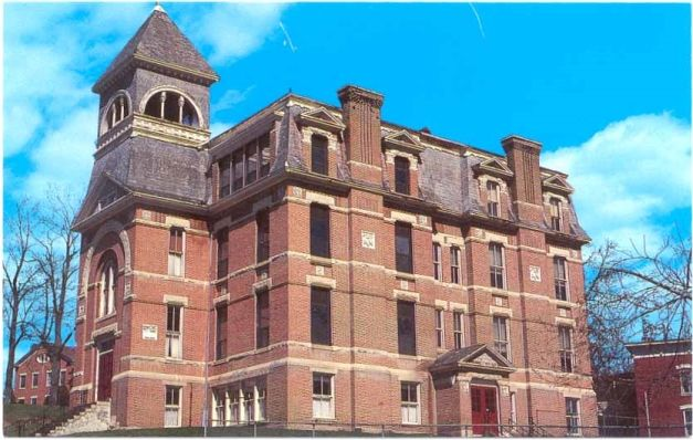 Historic Former St Mary S School 1890 4 Story Gothic Brick Building Vacant And Must Hoosick Fallsbrick
