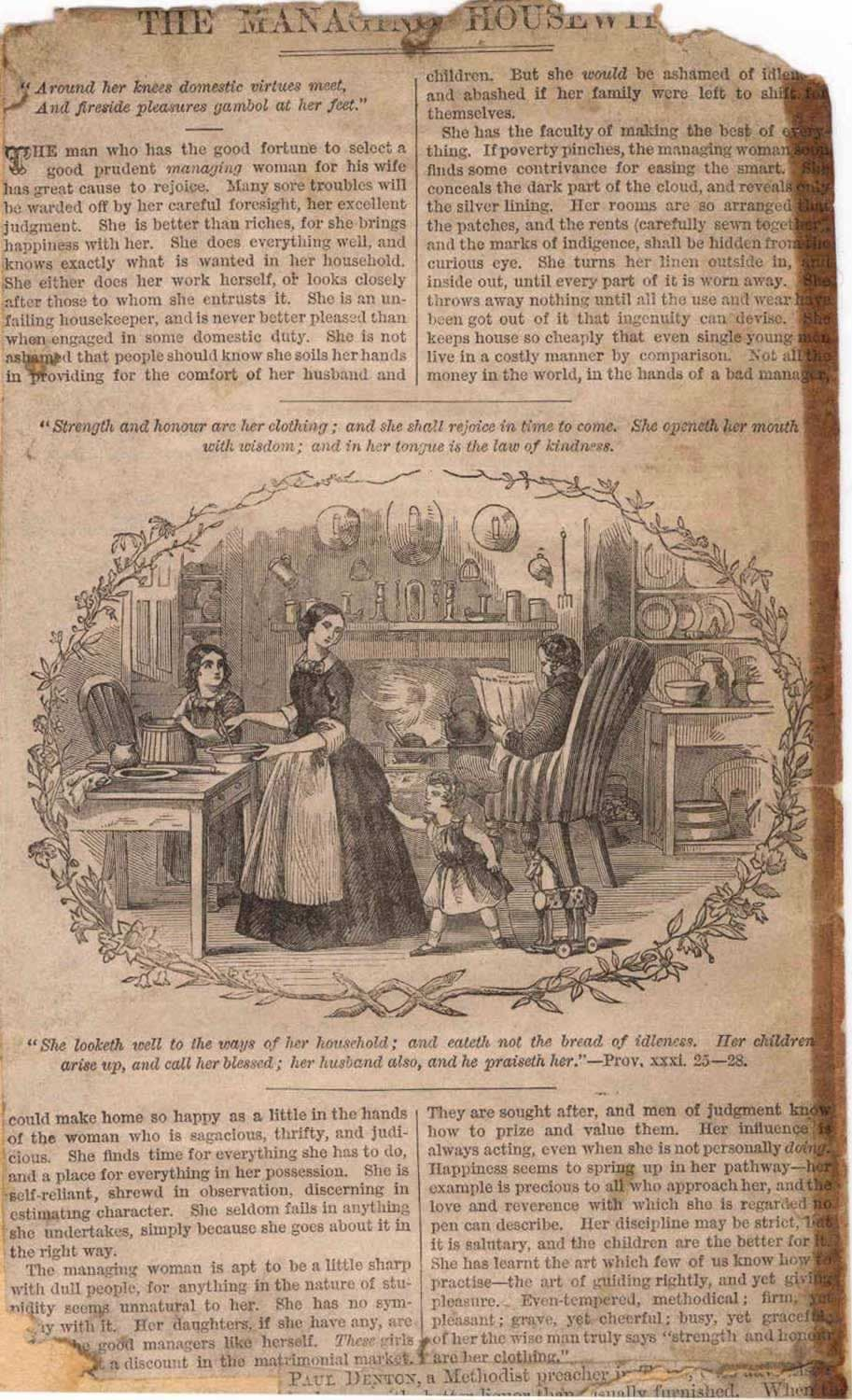 How to scrapbook with newspaper articles - Sample Victorian Newspaper Article From The Victorian Scrapbook Of George Burgess