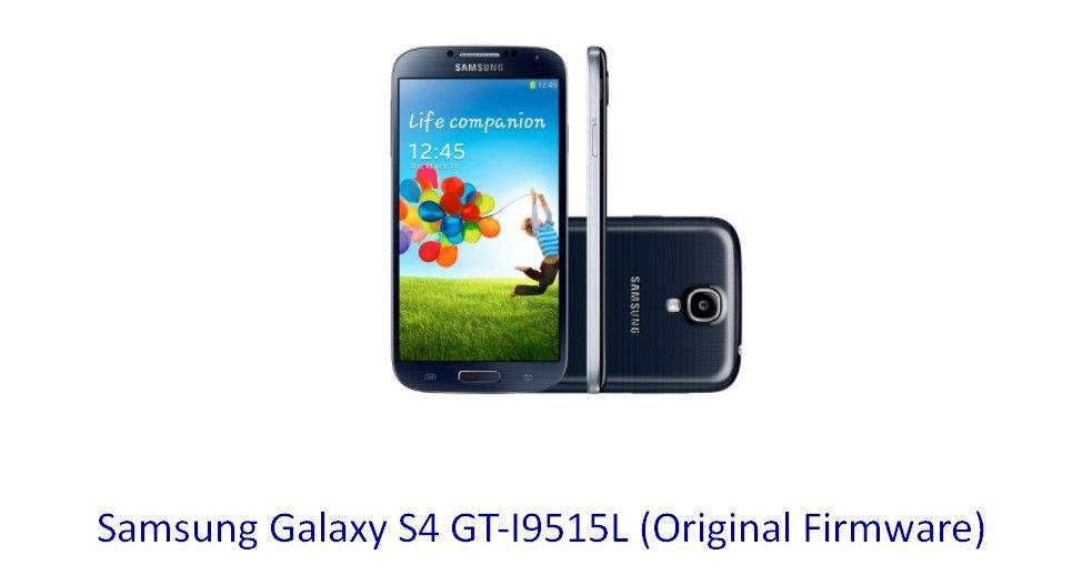 Samsung Galaxy S4 GTI9515L (Original Firmware (With