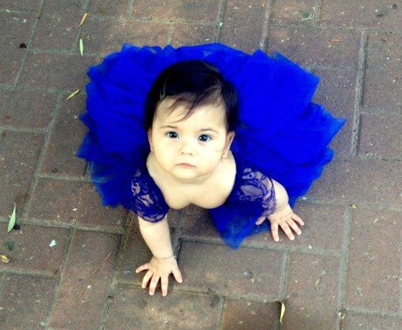 e9f15654f Royal Blue Flower Girl Dress