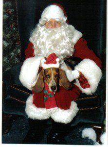 Betsy, a BIG bone please, Santa! 1999  (2000-2007)