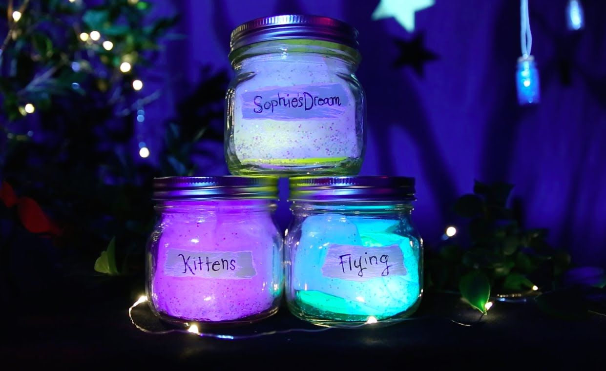 How To Make Bfg Dream Jar Disney Diy Bfg Dream Jars Dream Jar Bfg Dreams