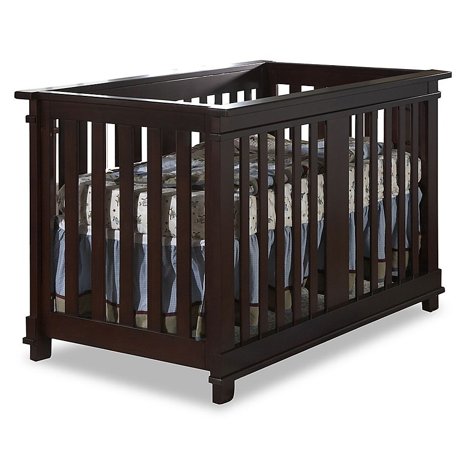 Pali Lucca 4 In 1 Convertible Crib In Mocha Convertible Crib Cribs Toddler Furniture