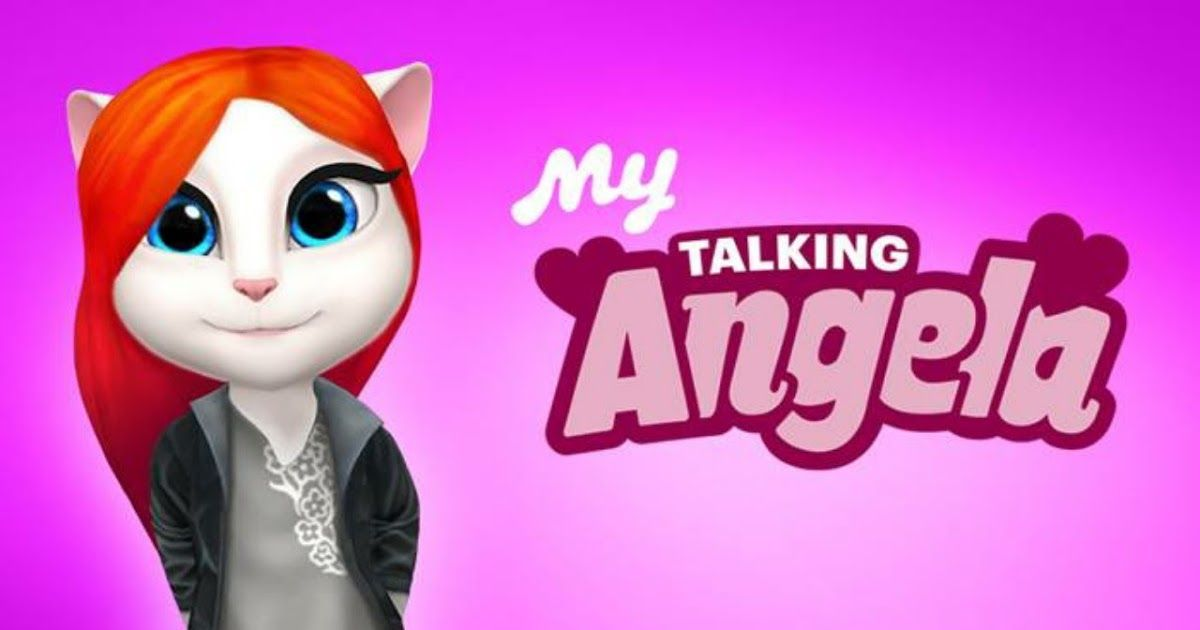 Free Download My Talking Angela Game Apps For Laptop Pc
