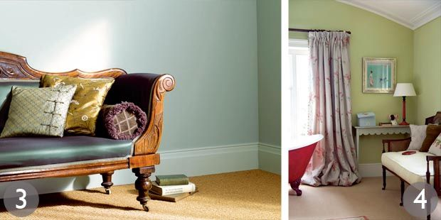 Crown period colours selection in flagon lytton green - Crown paint colours for living room ...