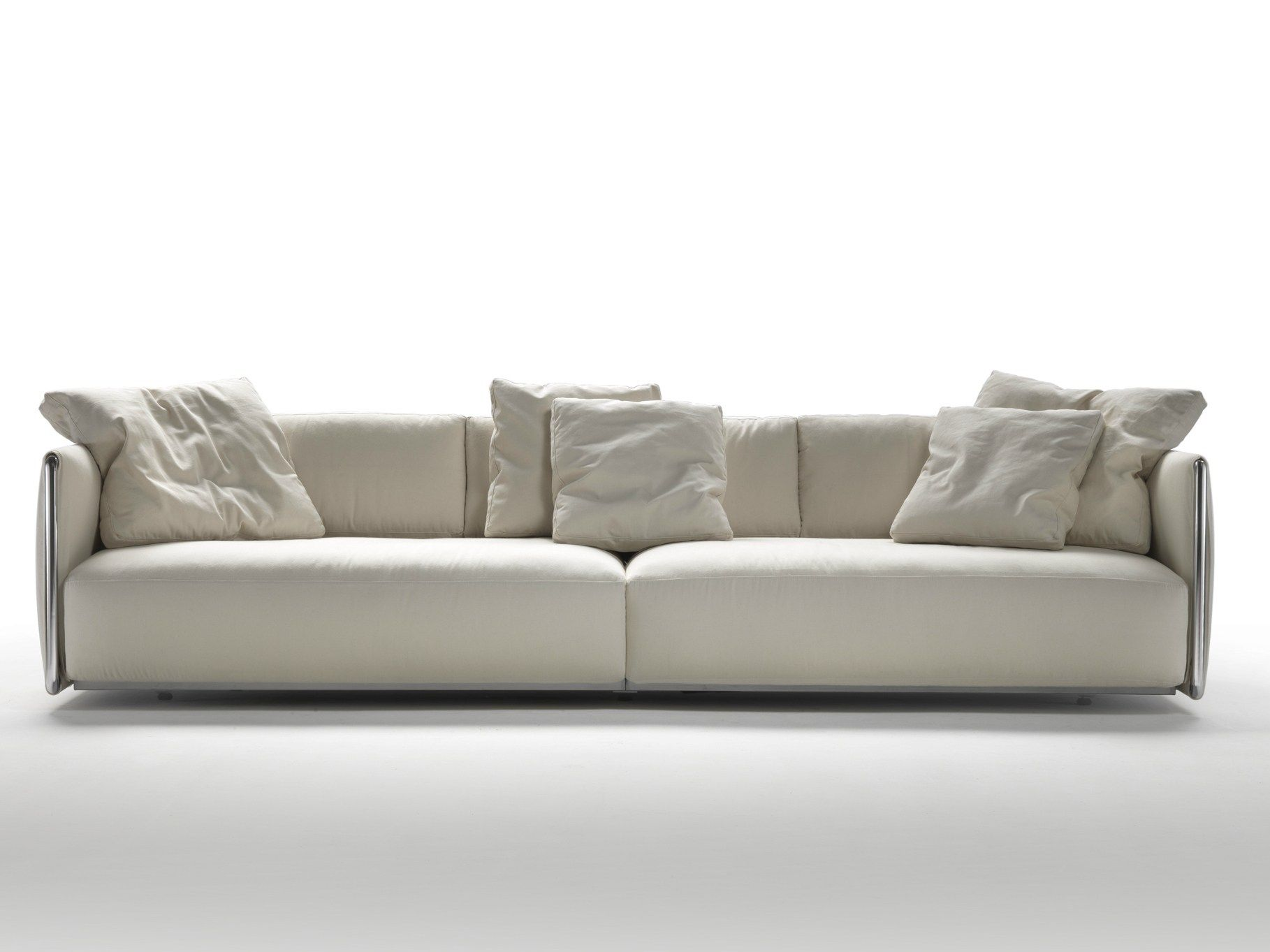 Fabric sofa with removable cover EDMOND by FLEXFORM design Carlo