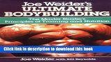 Download Joe Weider S Ultimate Bodybuilding Pdf Online Bodybuilding Pdf Joe Weider Bodybuilding