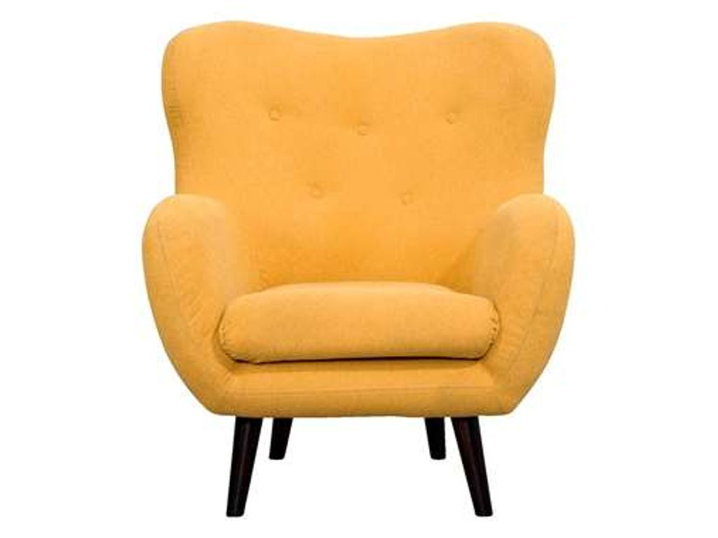 Fauteuil viborg stof geel furniture & lighting furniture