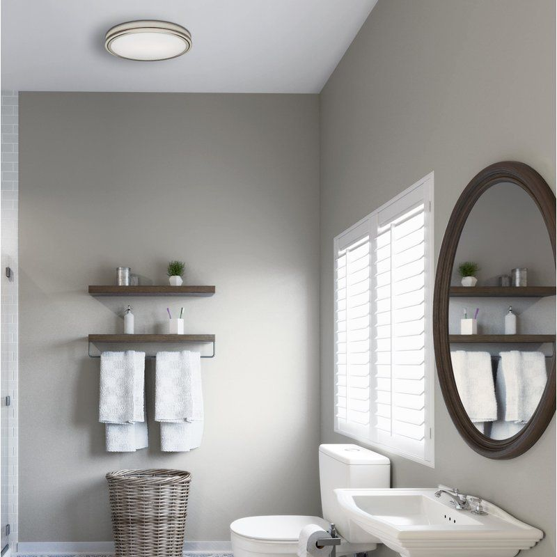 Riazzi 110 Cfm Bathroom Fan With Light And Night Light Fan Light Bathroom Fan Night Light