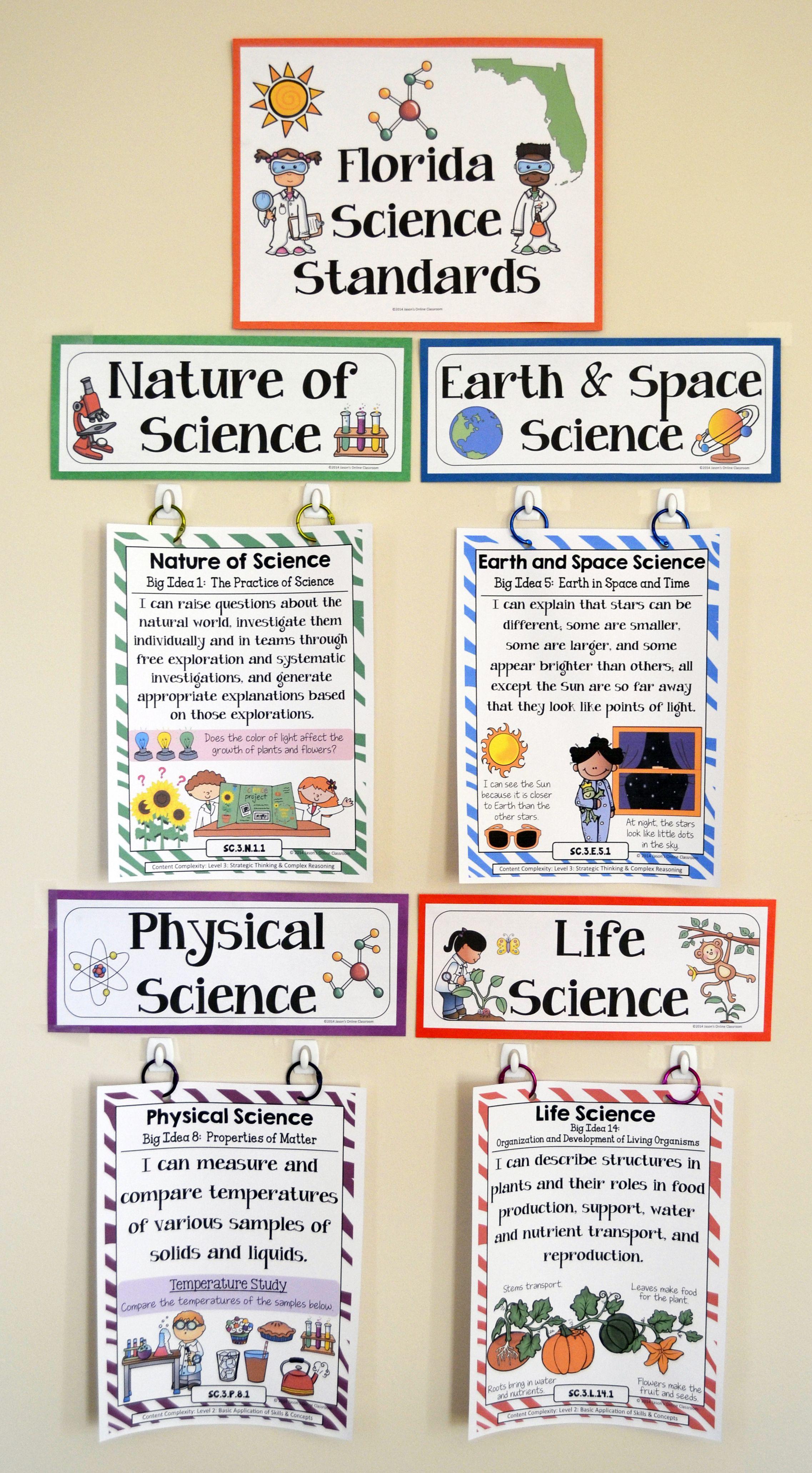 3rd Grade Florida Science Standards