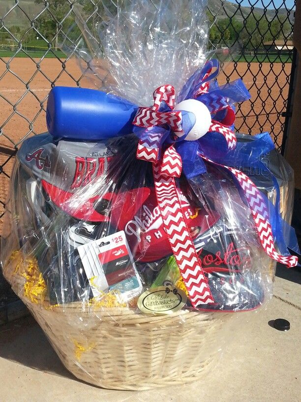 Baseball Gift Basket Wwwsaltlakegiftbasketscom