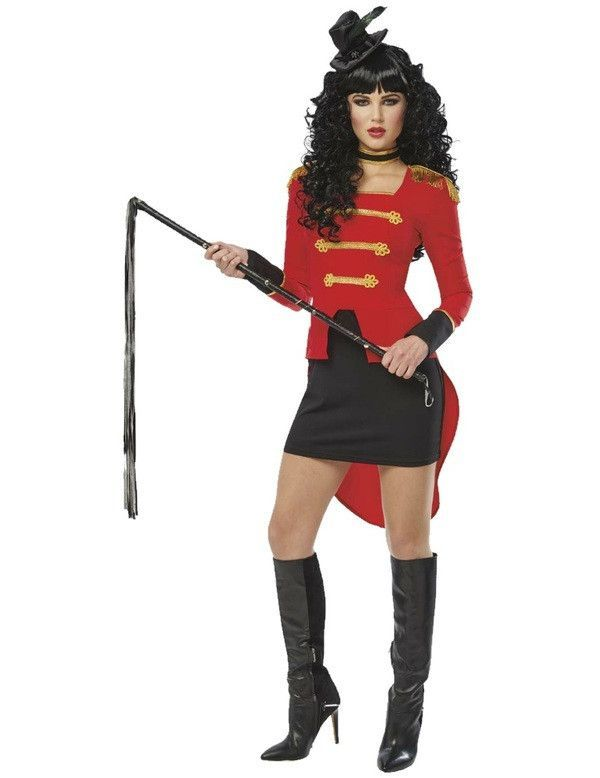 This Adult Lady Ringmaster Costume Includes dress hat and choker Small Dress Size 8 - 10 Bust 33 - 35 Waist 25 - 27 Hips 35 - 37 Medium Dress Size 10  sc 1 st  Pinterest & Ringmaster Lady Costume u2026 | Holidays! | Pinterest | Ladies costumes ...