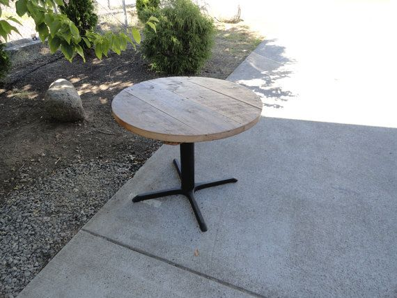 30 Inch Round Restaurant Pedestal Dining Table By Mthoodwoodworks