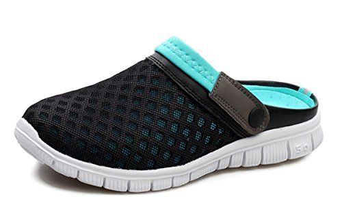 ddf498572945 Beeagle Womens Mens Unisex Clogs Comfortable Lightweight Walking Garden  Shoes Slippers Quick Drying Sandals 36-