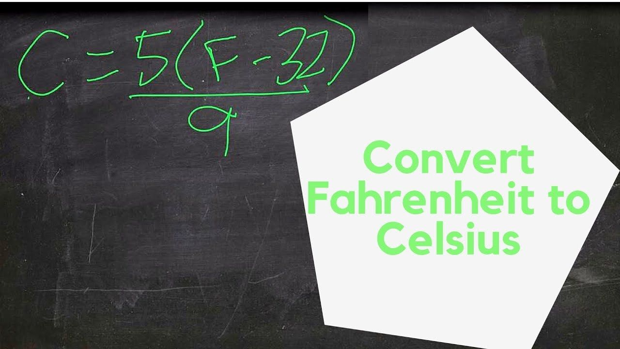 This Quick Example Shows You How To Convert 350 Degrees Fahrenheit Celsius
