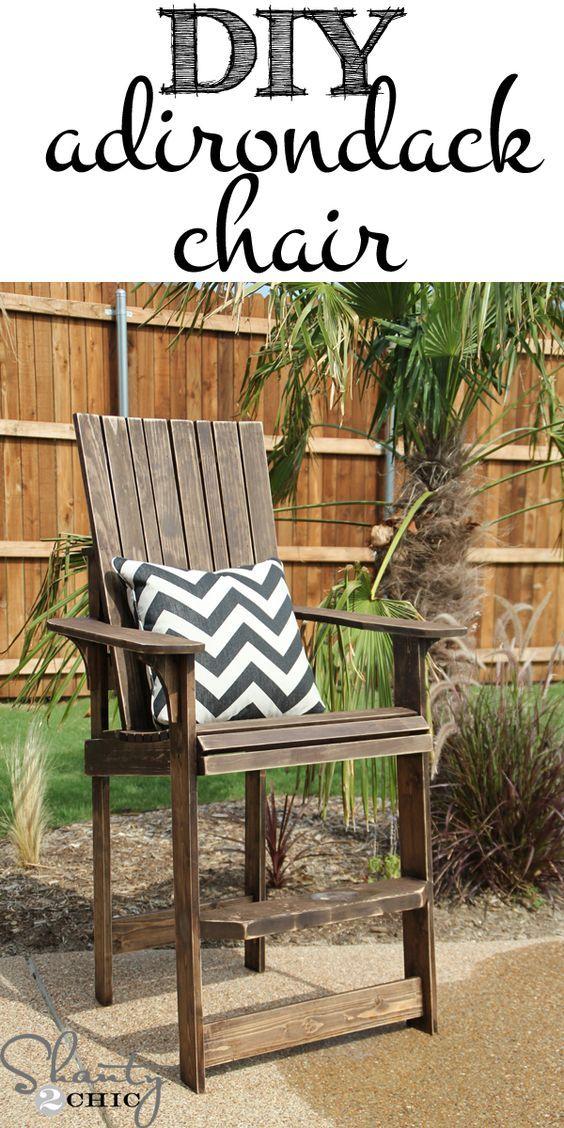 Diy Adirondack Chair Bar Height Rustic Patio Adirondack Chair Plastic Patio Chairs