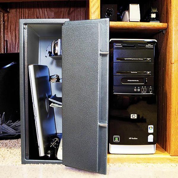 Best College Dorm Safe New & Improved v5.0 Charges Laptops Inside Free Security Cable - Stealth Dorm Safe | Dorm safe, Best college dorms, College dorm