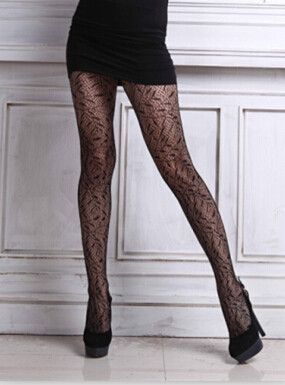 3724e03f617 sexy mesh stockings jacquard small net Thigh High Silk Stocking solid Fishnet  Pantyhose ladies sexy night club stocking