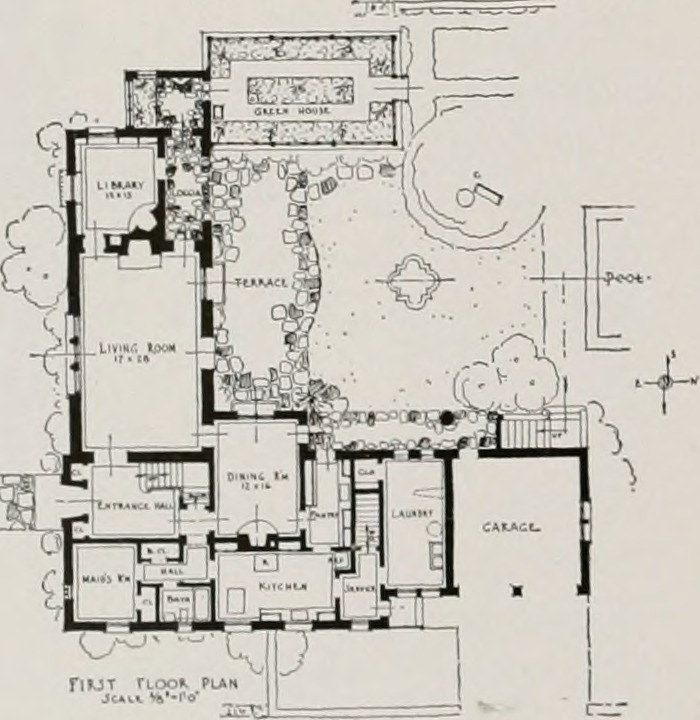 """Home Design Engineer: Image From Page 380 Of """"Architect And Engineer"""" (1905) In"""