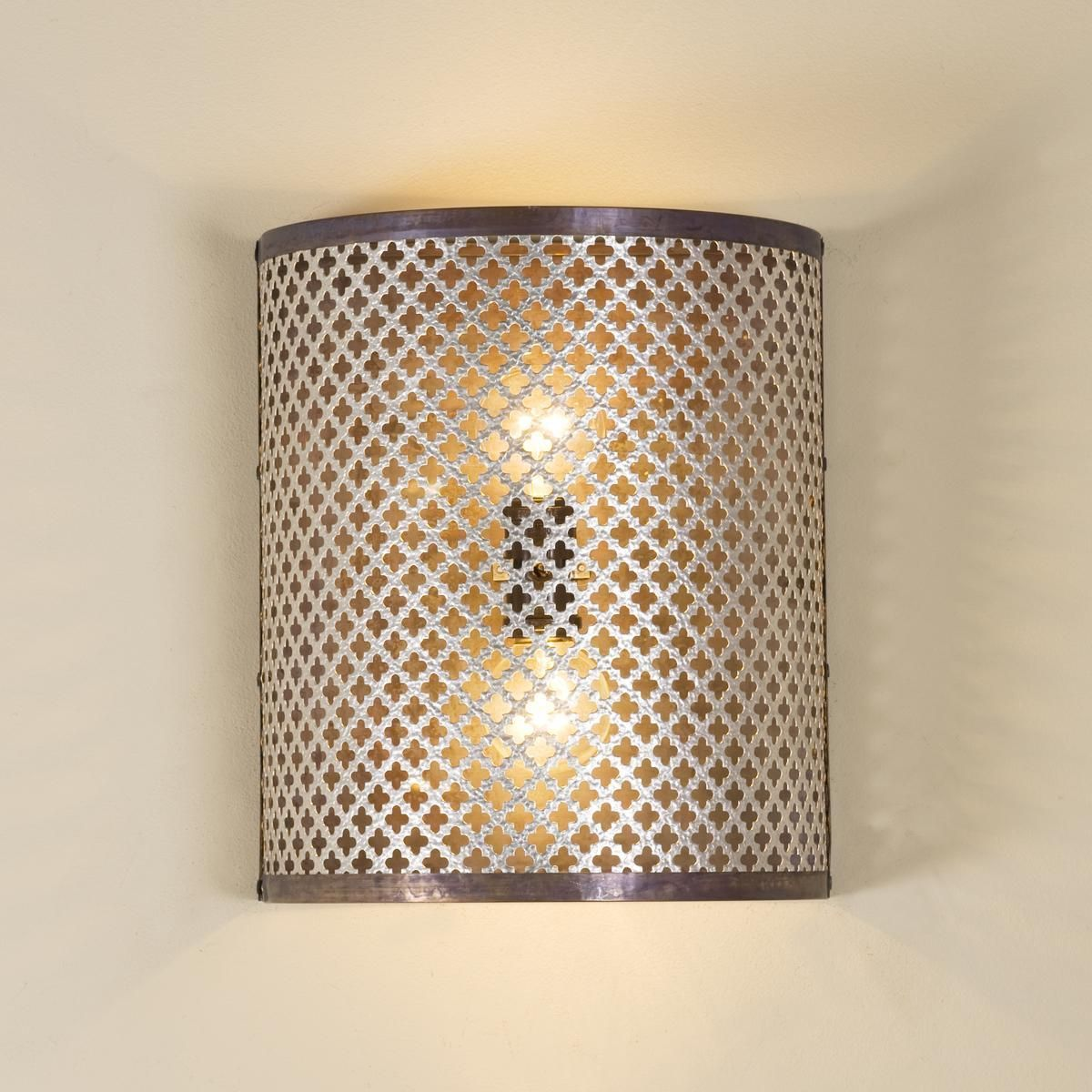 Quatrefoil Cutout Wall Sconce Wall Sconce Shade Unique Wall