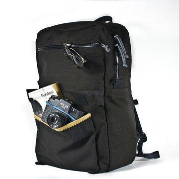 Medium Zipper Pack Black, $198, now featured on Fab.