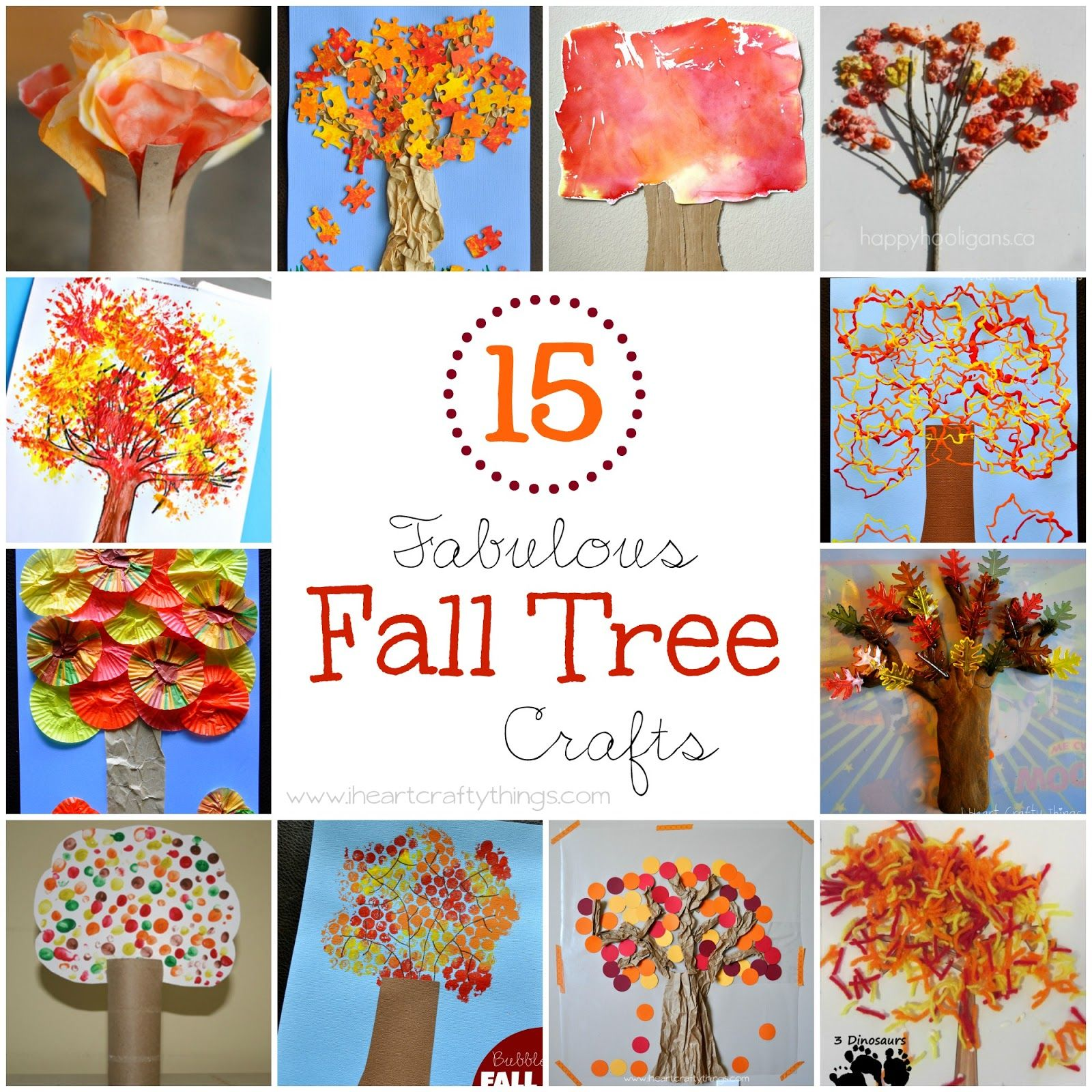 September Craft Ideas For Kids Part - 21: 15 Fabulous Fall Tree Crafts