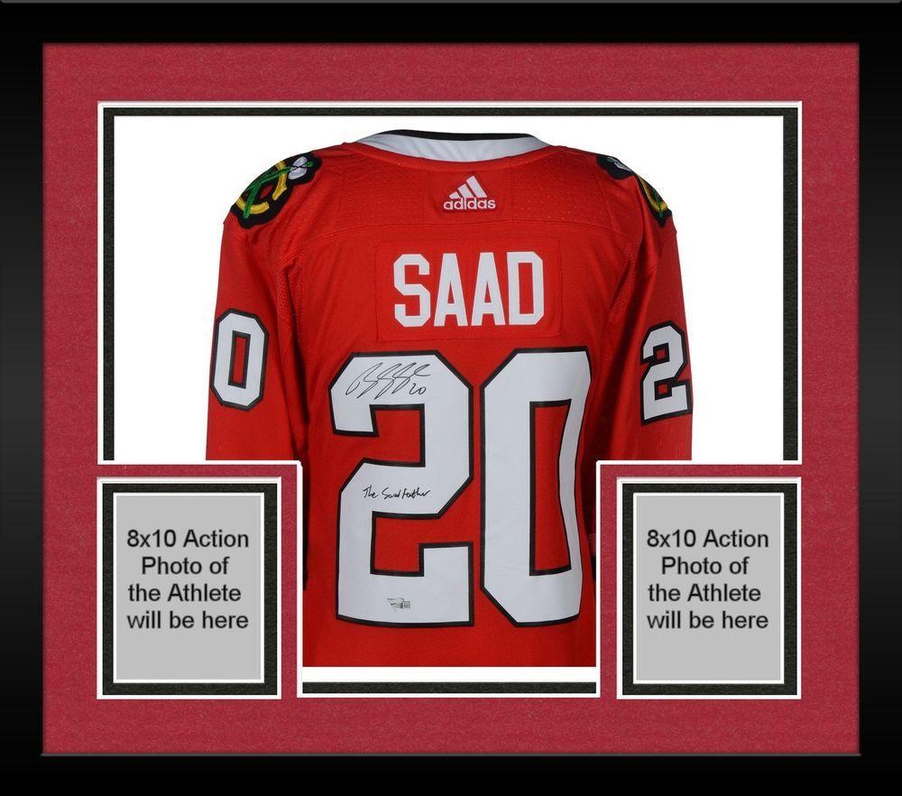 416cee417af Autographed Brandon Saad Blackhawks Jersey Fanatics Authentic COA Item  9175770