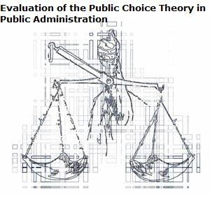 The public choice theory does not provide any alternative