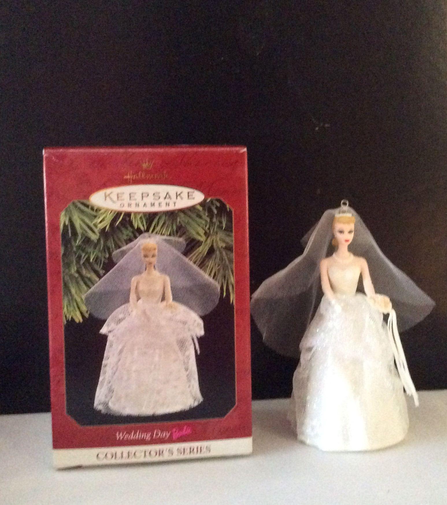 Hallmark Wedding Day Barbie Ornament By Contemporaryvintage On Etsy Hallmark Christmas Ornaments Hallmark Ornaments Wedding Day
