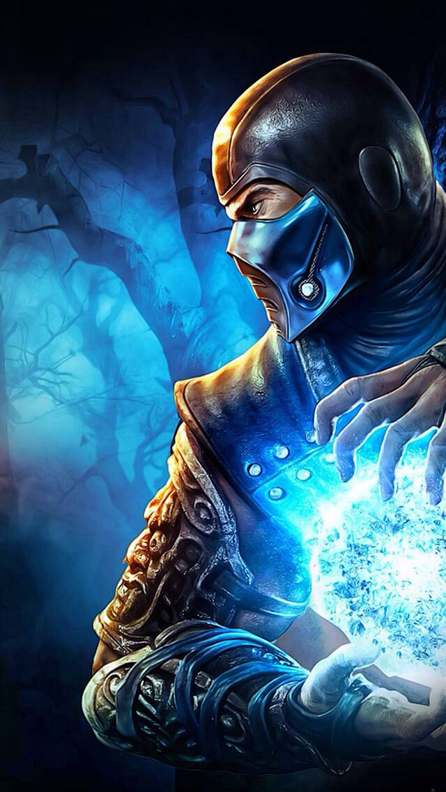 Sub Zero From The Zedge App Mortal Kombat Art Sub Zero Mortal