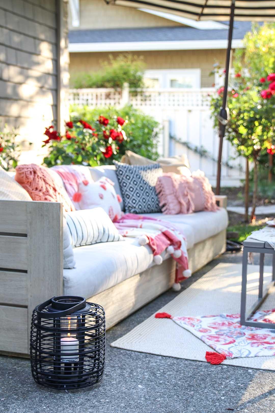 Patio Decorating Ideas 7 Simple Summer Updates Outdoor Spaces