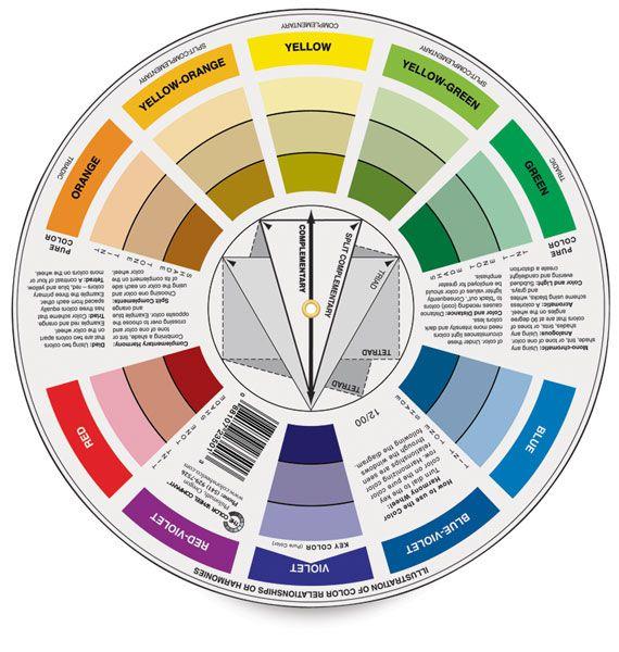 Artist S Color Wheel Blick Art Materials Color Wheel Interior Design Color Wheel Room Color Design