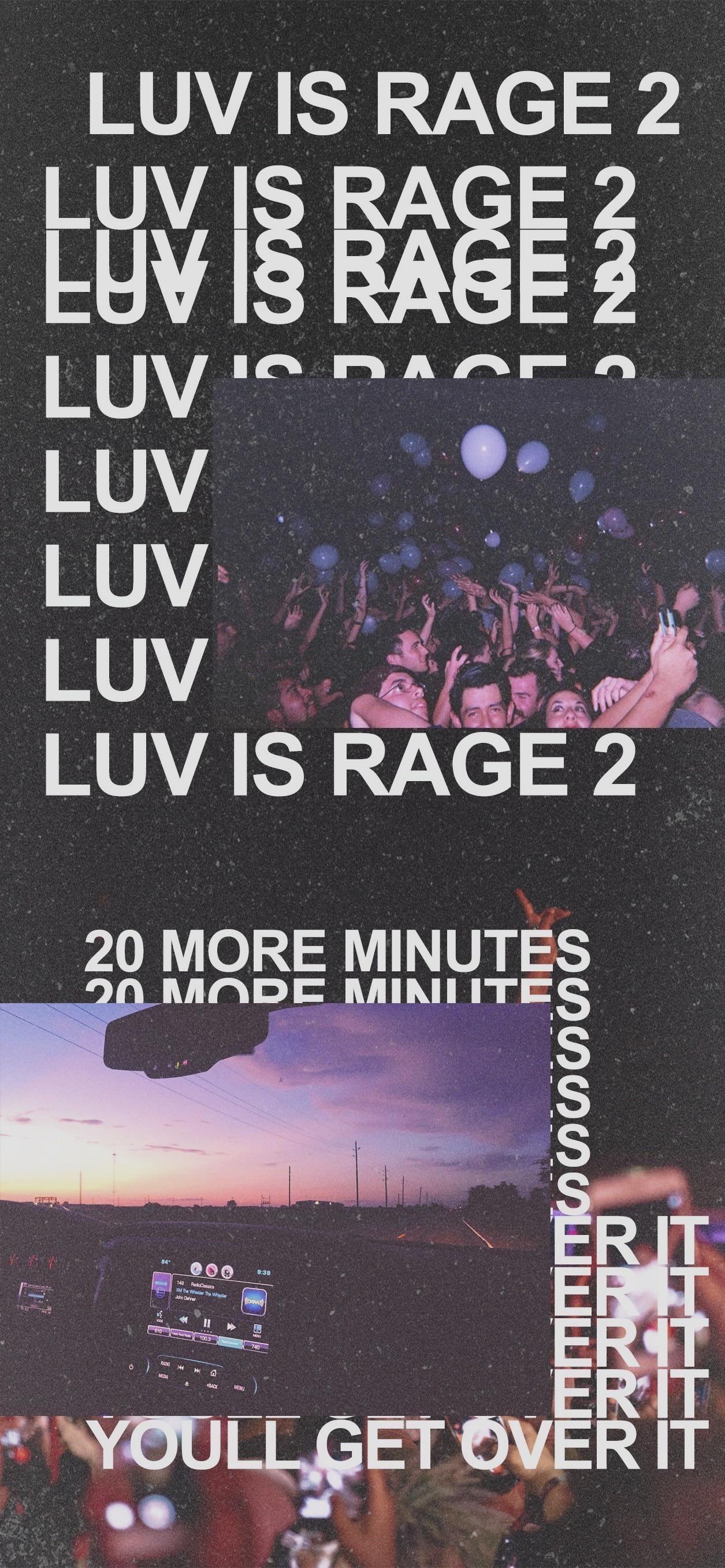 Luv Is Rage 2 Wallpaper Luv Is Rage 2 Rap Wallpaper Hypebeast