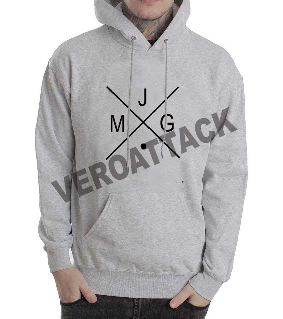 MJG grey color Hoodie