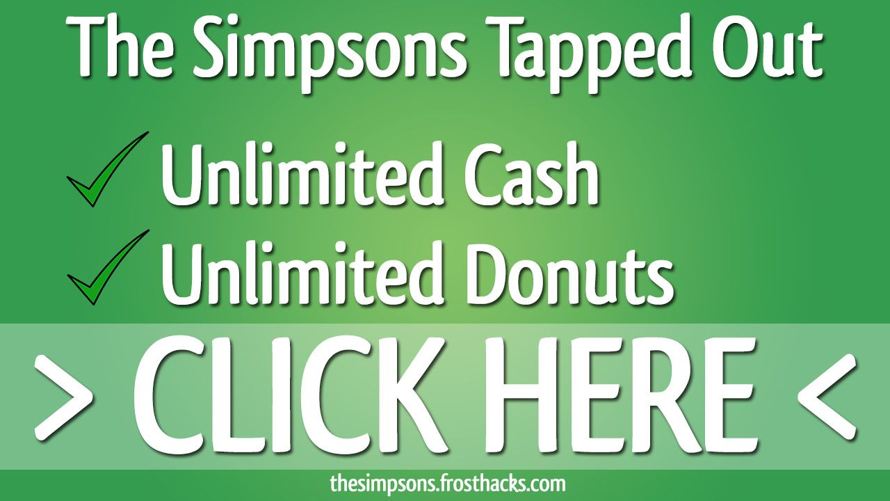 Simpsons Tapped Out Cheats --> Download: http://thesimpsons