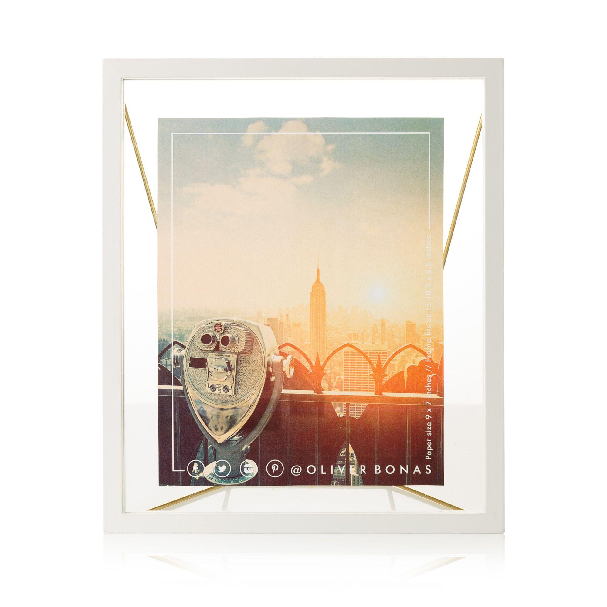Buy the Extra Large Loft Standing Floating Frame at Oliver Bonas ...