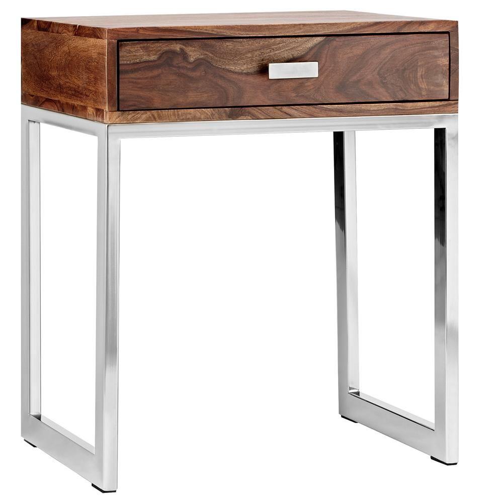 bouclair 349 atelier scandinave table de chevet en. Black Bedroom Furniture Sets. Home Design Ideas