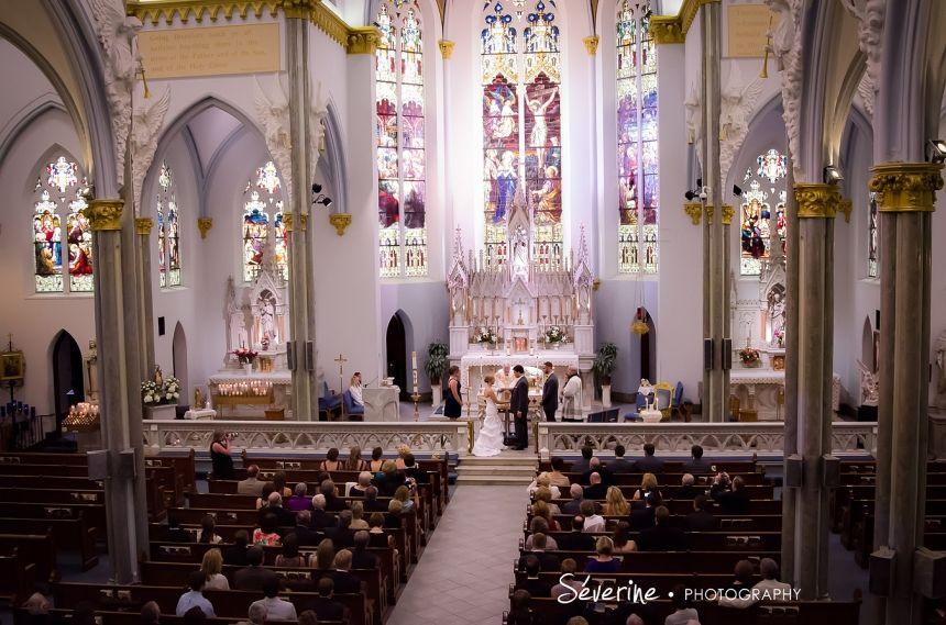 Jacksonville Wedding Photographers Catholic Church The River